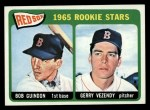 1965 Topps #509   -  Bob Guindon / Gerry Vezendy Red Sox Rookies Front Thumbnail