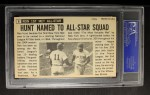 1964 Topps Giants #6  Ron Hunt   Back Thumbnail
