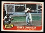 1965 Topps #135  1964 World Series - Game #4 - Boyer's Grand Slam  -  Ken Boyer / Elston Howard Front Thumbnail