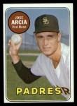 1969 Topps #473 WN  Jose Arcia Front Thumbnail