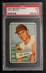 1952 Bowman Small #14  Paul Brown  Front Thumbnail