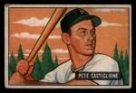 1951 Bowman #17   Pete Castiglione Front Thumbnail