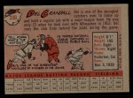 1958 Topps #390   Del Crandall Back Thumbnail