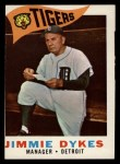 1960 Topps #214   Jimmy Dykes Front Thumbnail