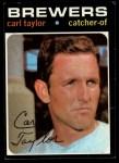1971 Topps #353  Carl Taylor  Front Thumbnail