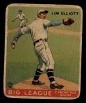 1933 Goudey #132   Jim Elliott Front Thumbnail