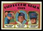 1972 Topps #61  Cubs Rookies    -  Gene Hiser / Burt Hooton / Earl Stephenson Front Thumbnail