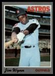 1970 Topps #60   Jim Wynn Front Thumbnail