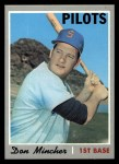 1970 Topps #185   Don Mincher Front Thumbnail
