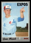 1970 Topps #442  Gene Mauch  Front Thumbnail