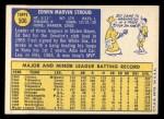 1970 Topps #506   Ed Stroud Back Thumbnail
