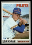 1970 Topps #688   Ted Kubiak Front Thumbnail