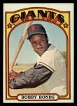 1972 Topps #711  Bobby Bonds  Front Thumbnail