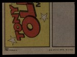 1972 Topps #702   -  Jose Pagan In Action Back Thumbnail