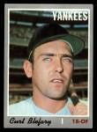 1970 Topps #297   Curt Blefary Front Thumbnail