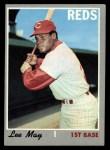 1970 Topps #225  Lee May  Front Thumbnail