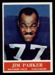 1964 Philadelphia #8   Jim Parker    Front Thumbnail