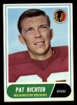 1968 Topps #114  Pat Richter  Front Thumbnail