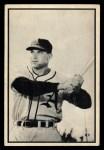 1953 Bowman Black and White #20   Eddie Robinson Front Thumbnail