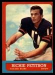 1963 Topps #71  Richie Petitbon  Front Thumbnail