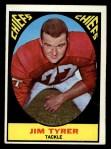 1967 Topps #68   Jim Tyrer Front Thumbnail