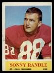 1964 Philadelphia #178   Sonny Randle Front Thumbnail