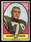 1967 Topps #115  Harry Schuh  Front Thumbnail