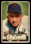 1952 Topps #125  Bill Rigney  Front Thumbnail