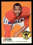 1969 Topps #98  Hewritt Dixon  Front Thumbnail