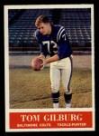 1964 Philadelphia #2   Tom Gilburg Front Thumbnail