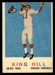 1959 Topps #117  King Hill  Front Thumbnail