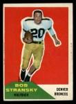 1960 Fleer #10   Bob Stransky Front Thumbnail