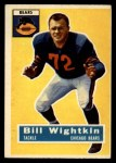 1956 Topps #107   Bill Wightkin Front Thumbnail
