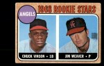 1968 Topps #328  Angels Rookies  -  Jim Weaver / Chuck Vinson Front Thumbnail