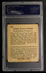 1932 R328 U.S. Caramel #11  Rogers Hornsby   Back Thumbnail