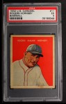 1932 R328 U.S. Caramel #11  Rogers Hornsby   Front Thumbnail