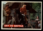 1956 Topps Davy Crockett #3 ORG  Off to Battle Front Thumbnail