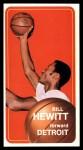 1970 Topps #56   Bill Hewitt  Front Thumbnail