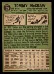 1967 Topps #29   Tom McCraw Back Thumbnail