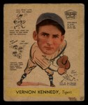1938 Goudey Heads Up #280  Vernon Kennedy  Front Thumbnail