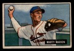 1951 Bowman #34   Marty Marion Front Thumbnail