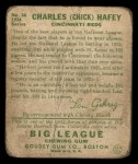 1934 Goudey #34  Chick Hafey  Back Thumbnail