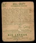 1934 Goudey #57  Bill Swift  Back Thumbnail