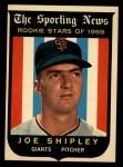 1959 Topps #141  Joe Shipley  Front Thumbnail