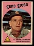 1959 Topps #37  Gene Green  Front Thumbnail