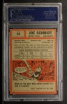 1962 Topps #59  Joe Schmidt  Back Thumbnail