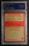 1965 Philadelphia #41  Paul Warfield  Back Thumbnail