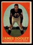1958 Topps #8   James Dooley Front Thumbnail