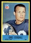 1967 Philadelphia #63   Gail Cogdill Front Thumbnail