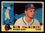 1960 Topps #534   Ken MacKenzie Front Thumbnail
